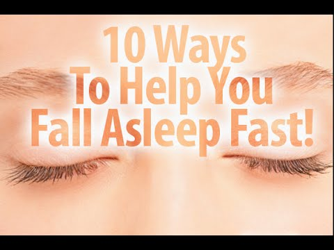 10 WAYS TO FALL ASLEEP FAST!!!