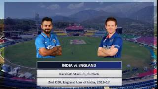Highlights - India vs England 2nd ODI in Cuttack