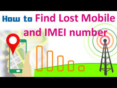 How to Find Lost Mobile and IMEI number