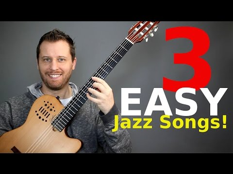 3 Easy Jazz Songs -  For People Who Don't Play Jazz!