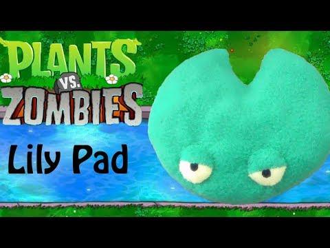 Plants vs Zombies: Lily Pad Plush (Free Pattern)