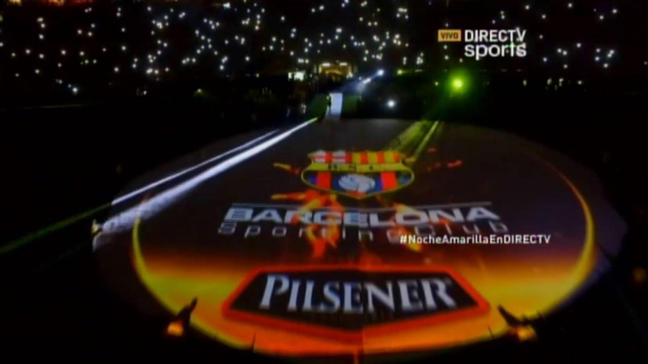 Directv: Noche Amarilla 2016 con Ronaldinho   Barcelona 4-3 San Martín