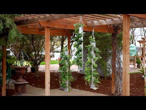 Galvanized Vertical Strawberry Planter! 🍓🍓🍓// Garden Answer