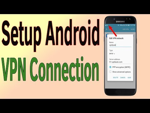 Free VPN Server | How To Setup Android VPN Connection- Helping Mind