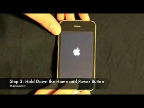 How to enter dfu mode iphone 3g 4 2 1 -