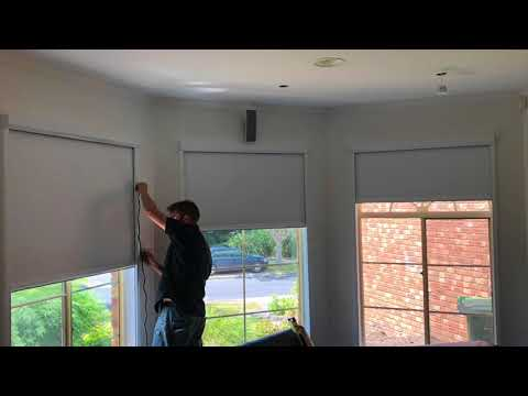 ScreenAway Blinds Over Arch Windows