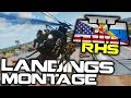 ArmA 3 RHS HELICOPTER MONTAGE™ ► KOTH LANDINGS EDITION - EPISODE TWENTY TWO