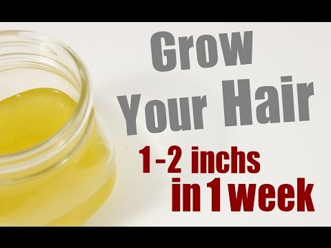 Grow Your Hair 1-2 inches in a week