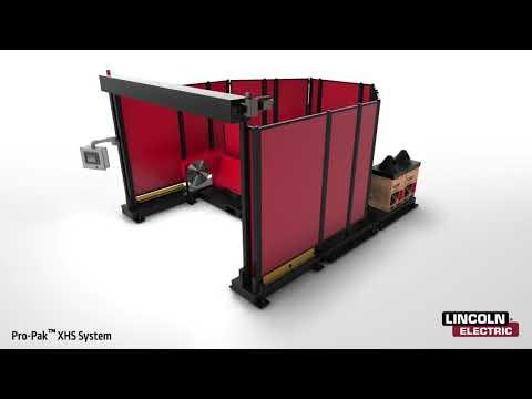 Pro-Pak XHS Robotic Welding Cell