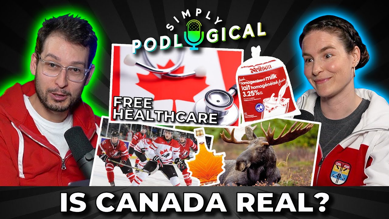 Canadians Discuss Canadian Stereotypes - SimplyPodLogical #15