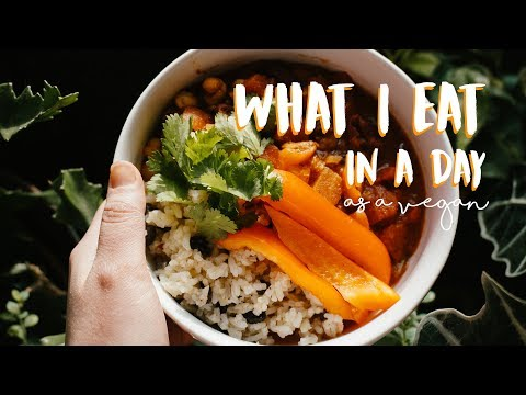What I Eat In A Day + Fridge Tour//VEGAN + HEALTHY