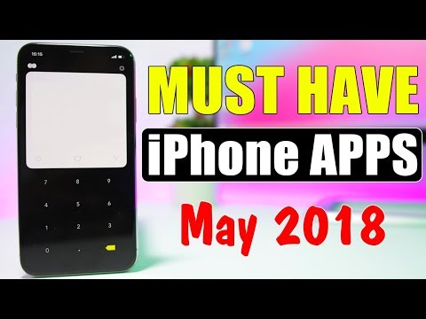 MUST HAVE iPhone Apps ** May 2018 **