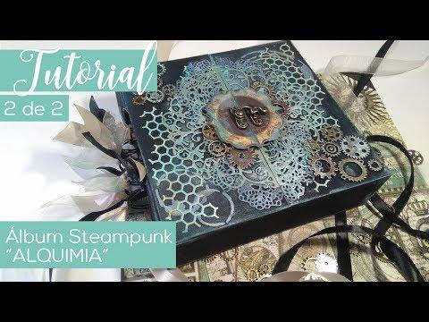 Mini-álbum steampunk