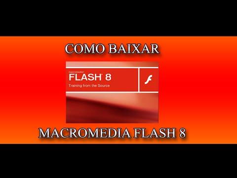 Como baixar Macromedia Flash Pro 8