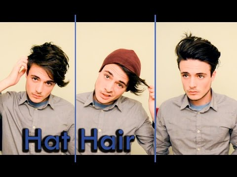 How to Deal with Hat Hair | Messy & Pushed Back Hair