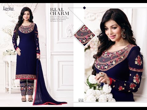 Latest Indian dresses collections 2017 || Ayesha Takia SALWAR KAMEEZ || LAVINA VOL 10