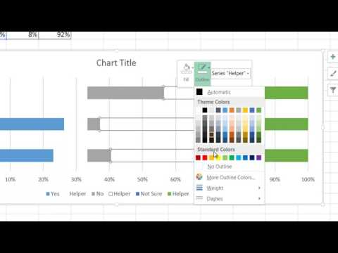 Create a Small Multiples Visualization with a Stacked Bar Chart