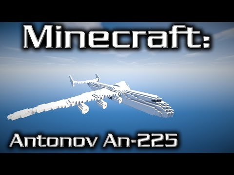 Minecraft: Antonov An-225 Tutorial