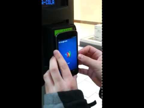 Google Wallet (NFC) on Galaxy Nexus