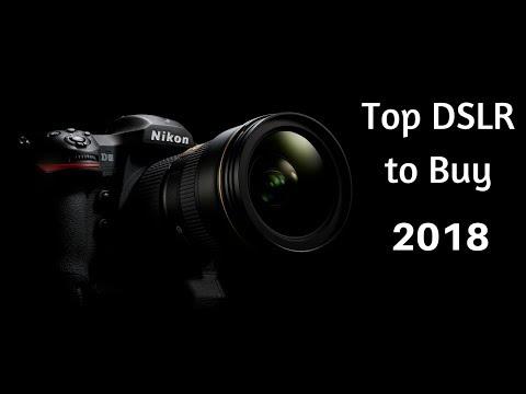 Top 5 Best DSLR Cameras 2018    Best DSLR Camera 2018