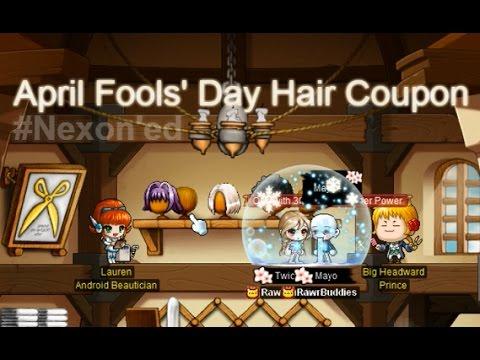 [GMS Windia] Nexon'ed with April Fools' Day Hair Coupon