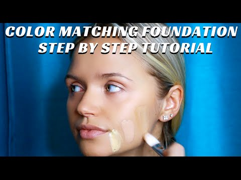 How to Color Match the Correct Foundation! Step by Step Makeup Tutorial pt. 3 - mathias4makeup