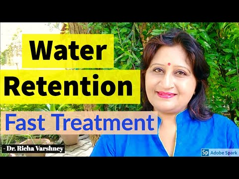 Natural Cure For Water Retention at home | Home Remedies treatment for Fluid Retention in Hindi