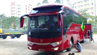 NEW BUS!! Bus Infinity dan SDD Lorena dan Karina persiapan Pameran di ICE BSD City