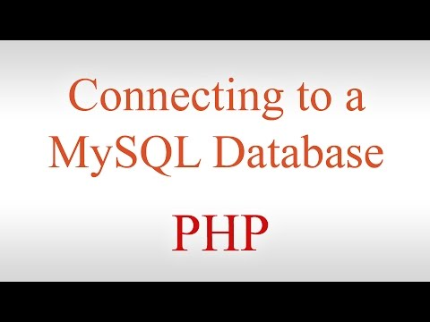 PHP Tutorial #1 - Connecting to a MySQL Database & Displaying Records on a Web Page [MySQL Tutorial]