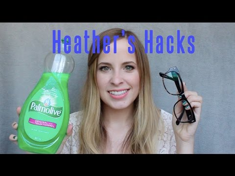Heather's Hacks: How to Clean Your Glasses/Sunglasses | Heather Pickles
