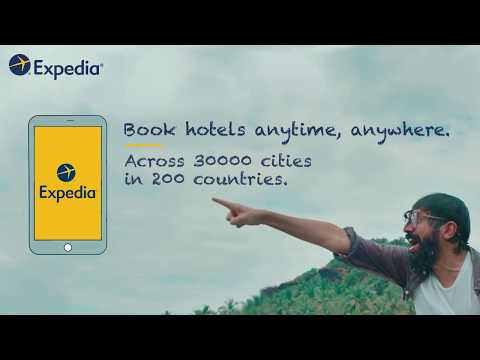 Expedia - Hotels across 30,000 cities in 200 countries