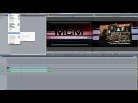 Mp3 Conversion (without Soundtrack Pro) - Final Cut Final Tip