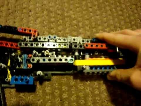 Lego Winchester model 1887 (working) mechanism