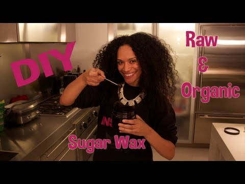 Sugar Wax || DIY Organic Hair Remover