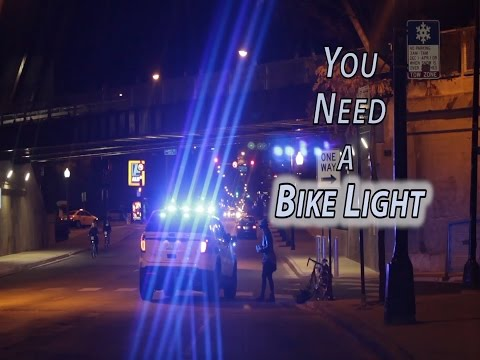 You Need a Light for Your Bike