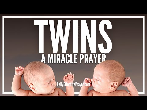 Prayer For Twins - Praying For Twins