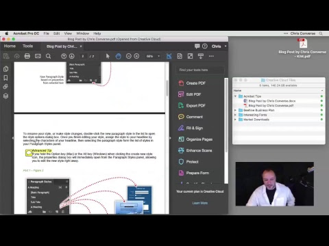 Acrobat DC Tips & Tricks with Chris Converse: Convert, Comment, and Share from Anywhere (Episode 8)