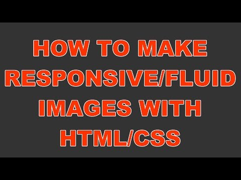 How to make image responsive (html, css, website, webpage, code)