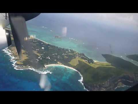Leaving Lord Howe Island