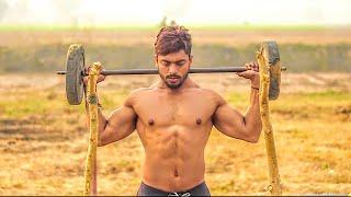 DESI - Full Shoulder Workout In Desi Gym⚫||VIPIN YADAV||