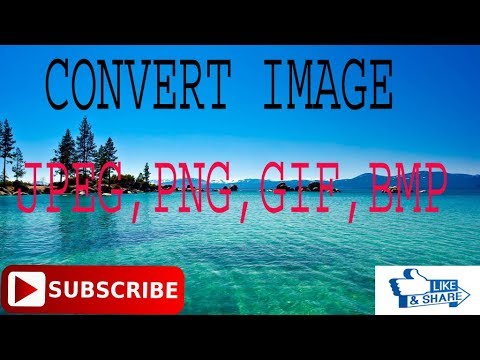 Gif, Tiff, Png, Bmp,jpg convert by MS Word