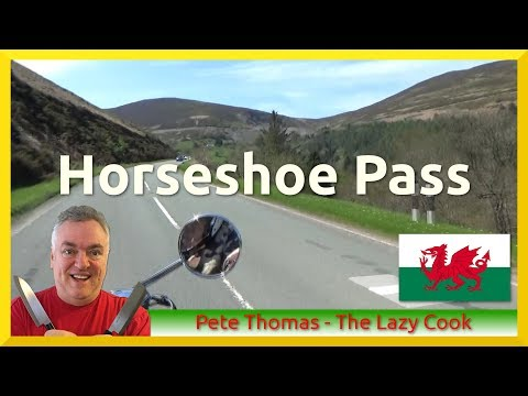 Beautiful North Wales - Horseshoe Pass - Ponderosa Cafe - Trike Ride