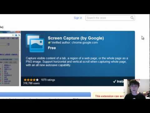 How To Capture A Screen in Google Chrome