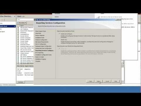 SQL Server 2012 Tutorial - Std Install Part 3