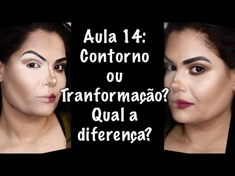 Aula 14: Contorno ou Transformação? | Curso de Maquiagem 2018
