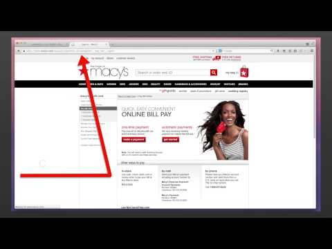 Pay Your Macy's Bills Online with Www.Macys.com/PayBill