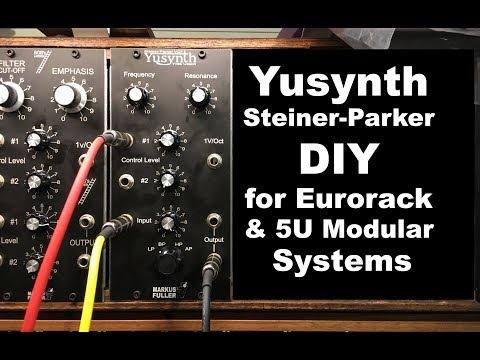 Yusynth steiner parker voltage controlled filter diy home build