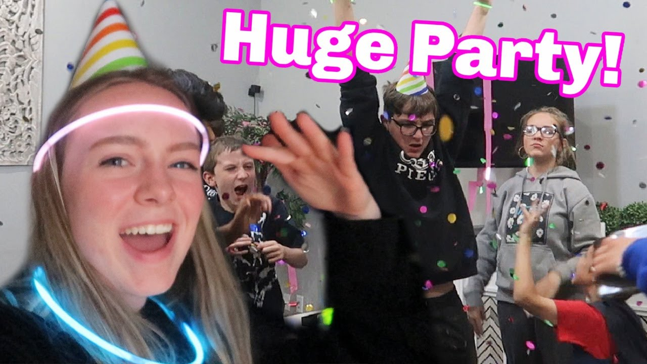 Threw A Party Without Parents Knowing