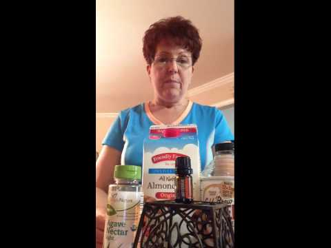 Healthy Iced  Coffee Drink Using Cinnamon Essential Oil