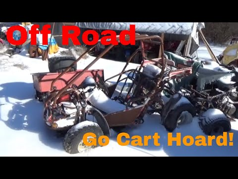Hoard of Off Road Go Carts, 5 Hammerhead Style ATVs,